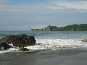 Rocks at Playa Carrillo
