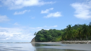 Playa Samara at low tide