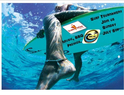 surf competition in playa samara beach costa ricaq