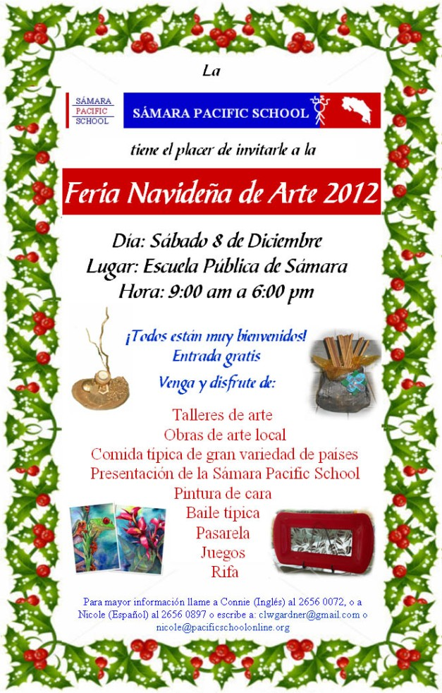 art fair playa samara costa rica